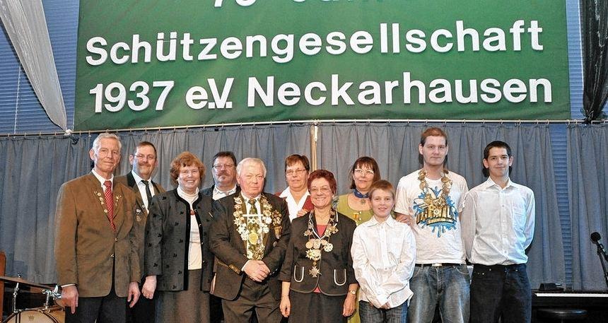 Jubiläum 75 Jahre SG Neckarhausen