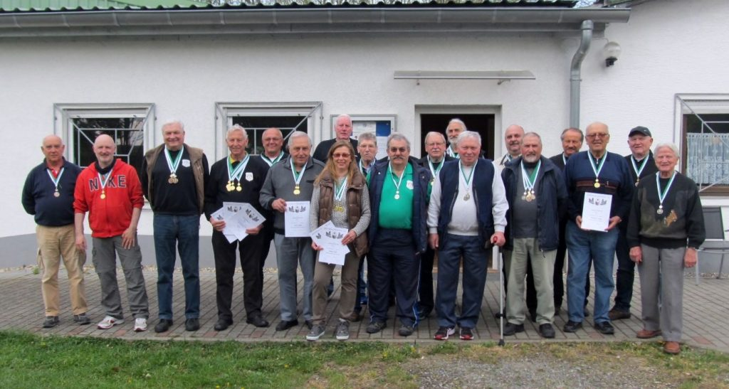 Die Geehrten in Laudenbach